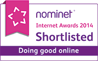 Nominet Internet Awards 2014 - Shortlisted Doing Good