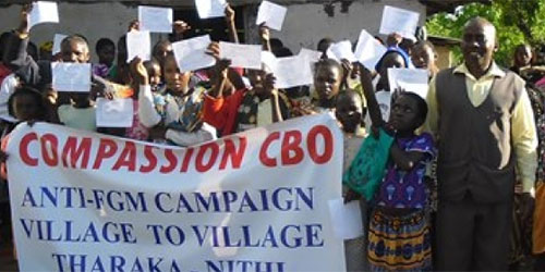 Compassion CBO Anti-Fgm Campaign in Kenya