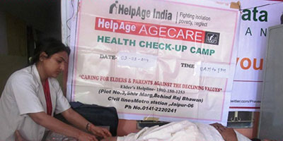 HelpAge health check-up