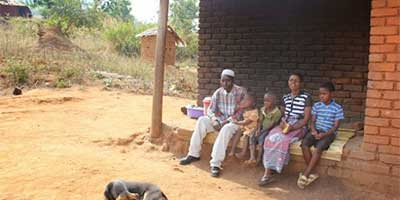 This is one of the many farming families from Rumphi, Malawi that complained about the late arrival of subsidy fertilisers. | Photo: Mabvuto Banda