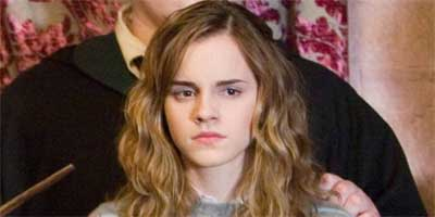 Girls are more likely to emulate the polite, studious Hermione Granger, played by Emma Watson, than wild-child party girls like Peaches Geldof in her heyday