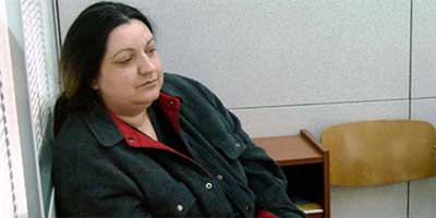 Rasema Handanovic was sentenced to five and a half years for the killings of Croat civilians and prisoners of war. Photo: AFP/Getty Images