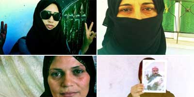 Faces of courage: The Homs widows whose lives have been shattered by war. | Photo: Tara Sutton / Guardian