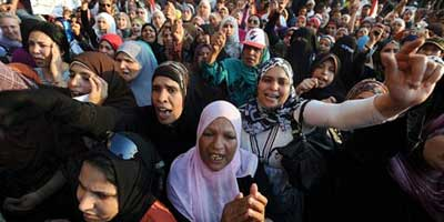 Cairo protests | Photograph: Mohamed Omar/EPA