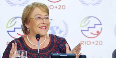 Michelle Bachelet at Rio20