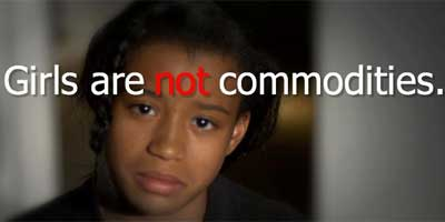 Girls are not commodities