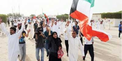 Peaceful-protest-in-Kuwait
