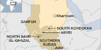 South-Kordofan-map