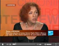 Tanya Lokshina on France 24
