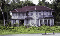 House of Aung San Suu Kyi where she is held under house arrest