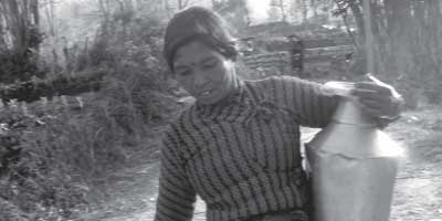 Woman farmer in Nepal