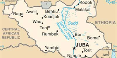 South-Sudan-map