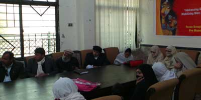 Grassroots Consultation for Implementation of Pro-women Laws in KPK, Pakistan