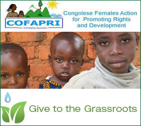 Please support work of COFAPRI in DR Congo
