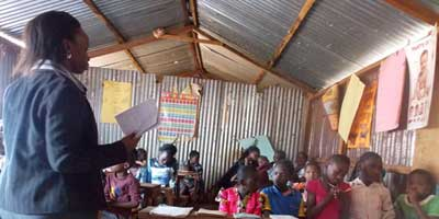 Teaching Girls in Githogoro Slum About the Dangers of FGM