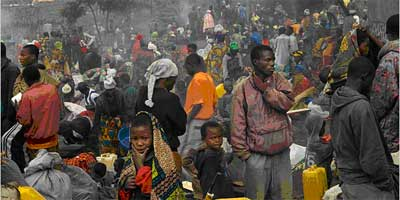 Refugees in DR Congo
