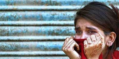 On average 100 women are raped every 24 hours in Karachi city alone. Photo: REUTERS