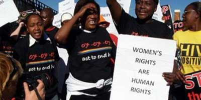 Demonstration against corrective rape | Photo: Str8talk Chronicle