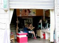 A sex worker waiting for men at the 'Vietnamese girl market' | Photo: VTC