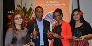 Aware Girls' Founder wins Common Wealth Youth Award for Excellency in Development