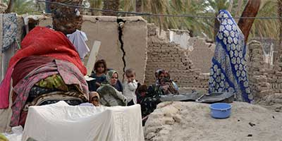 Balochistan earthquake victims | Photo: AFP