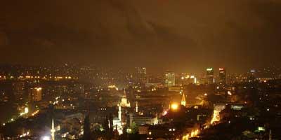 Woman in Sarajevo