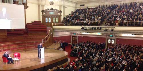 Ban Ki Moon at Westminster