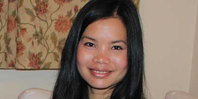 Zoya Phan, Campaigns Manager at Burma Campaign UK, in 2011